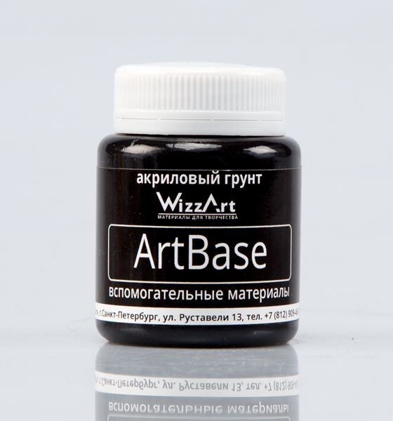WB3 ArtBase Грунт черный  80мл 80 мл