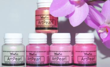 Хамелеоны-предновогоднее пополнение семейства акриловых красок ArtPearl