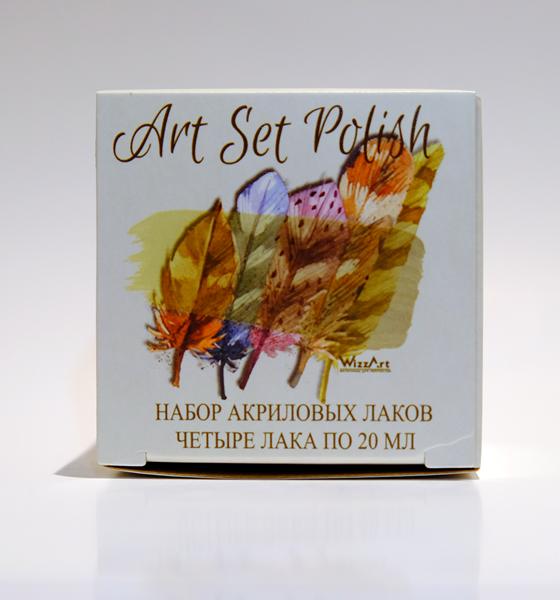 WSP4 ArtSet Polish набор 4 лака